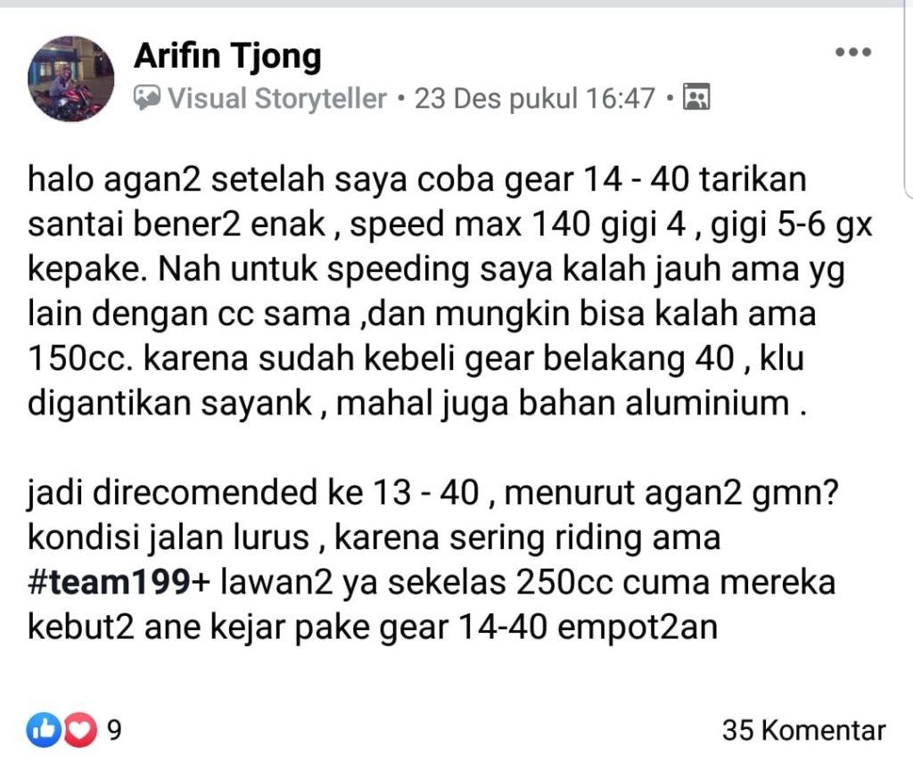 yamaha mt 25 cari top speed