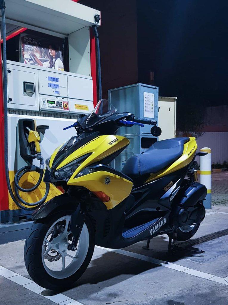 Yamaha aerox 155 sliding roller dr pulley