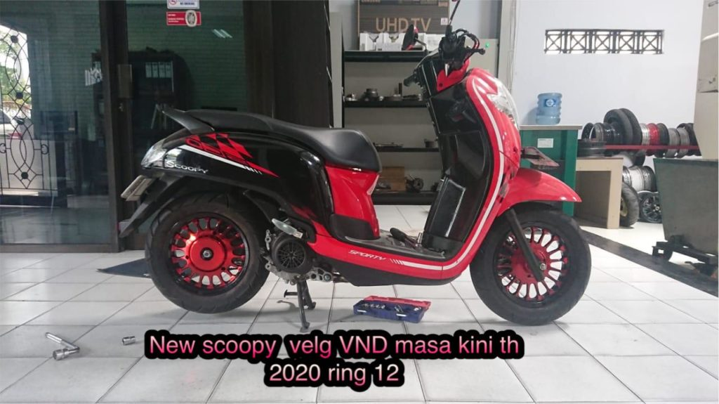 VND Velg Ring 12 New Scoopy