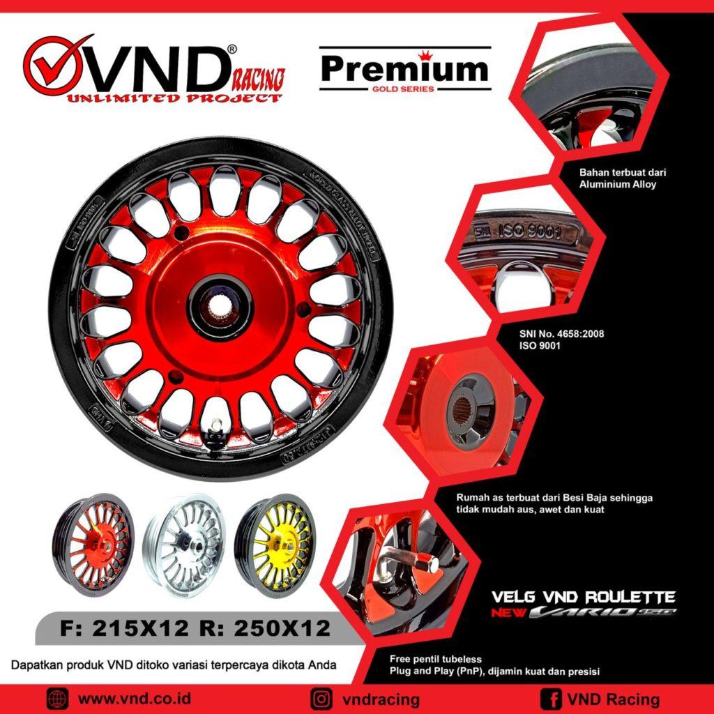 VND Velg Ring 12 New Vario 150