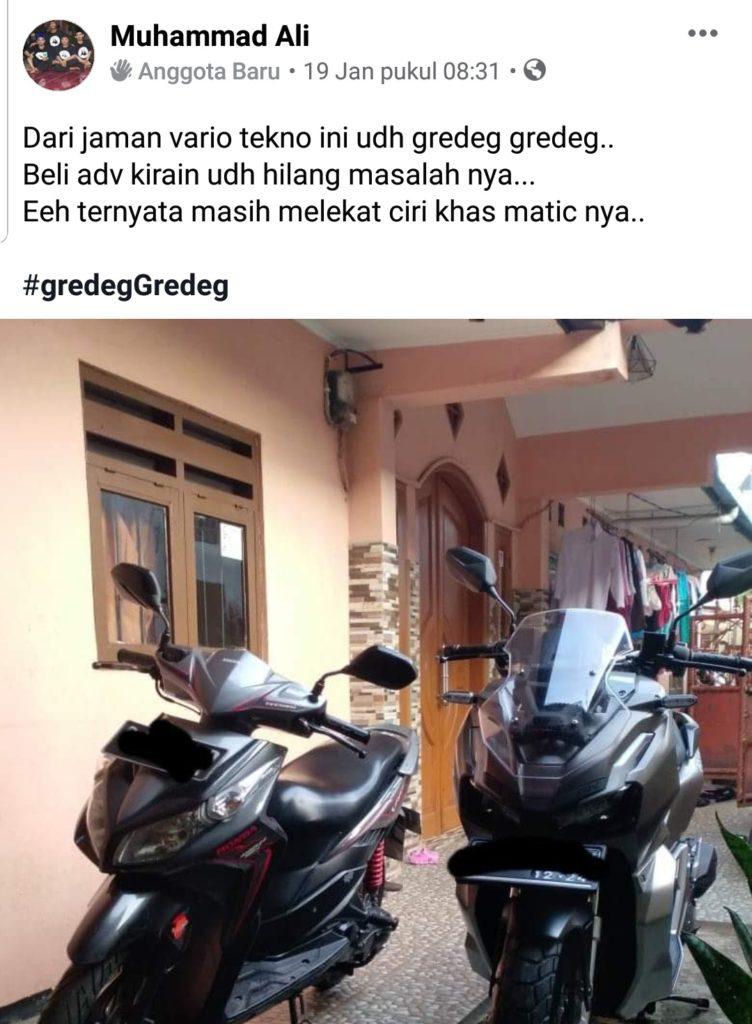Honda adv gredeg