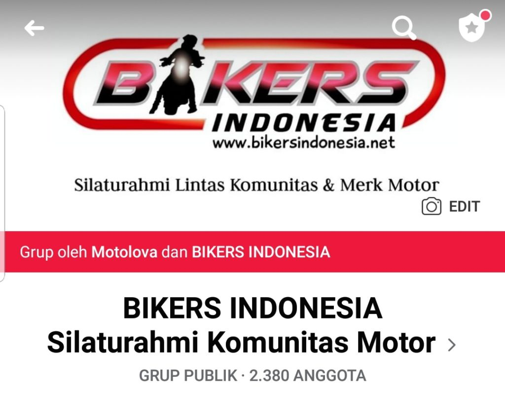 Grup facebook biker indonesia