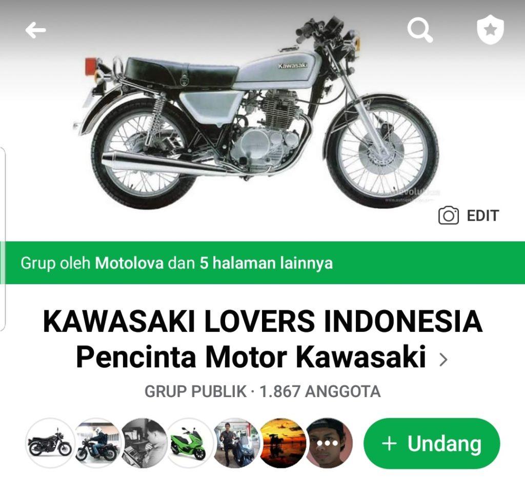 Grup facebook kawasaki lovers