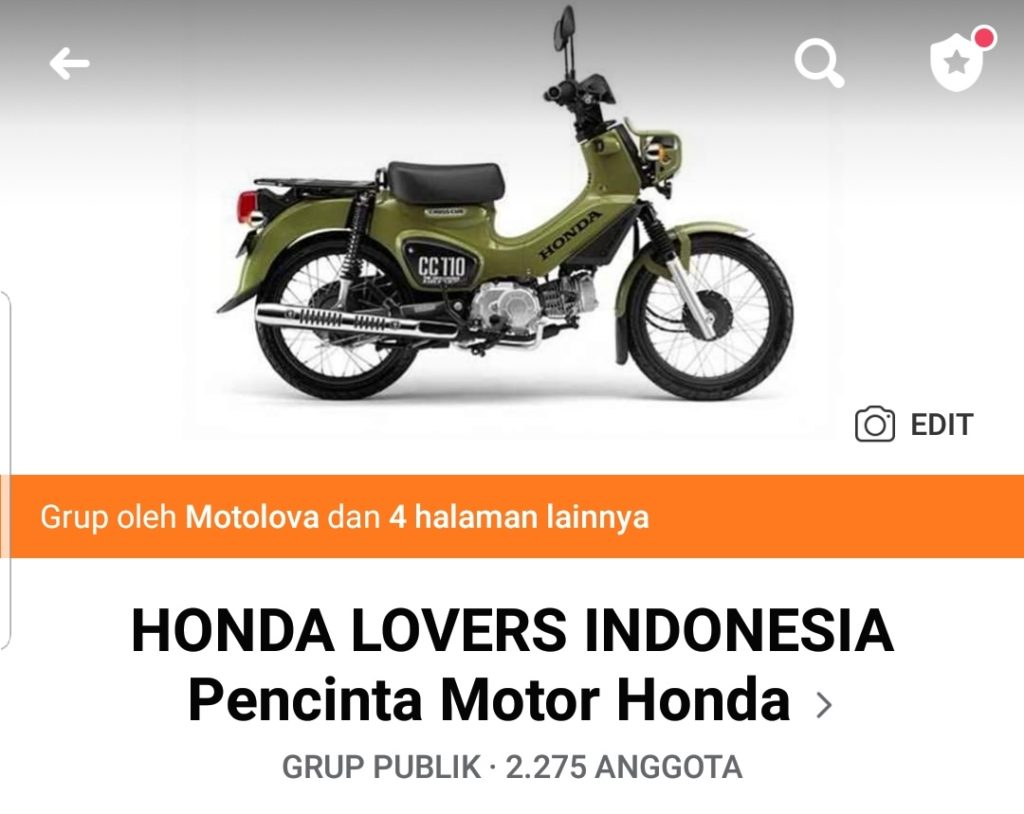Grup facebook honda lovers