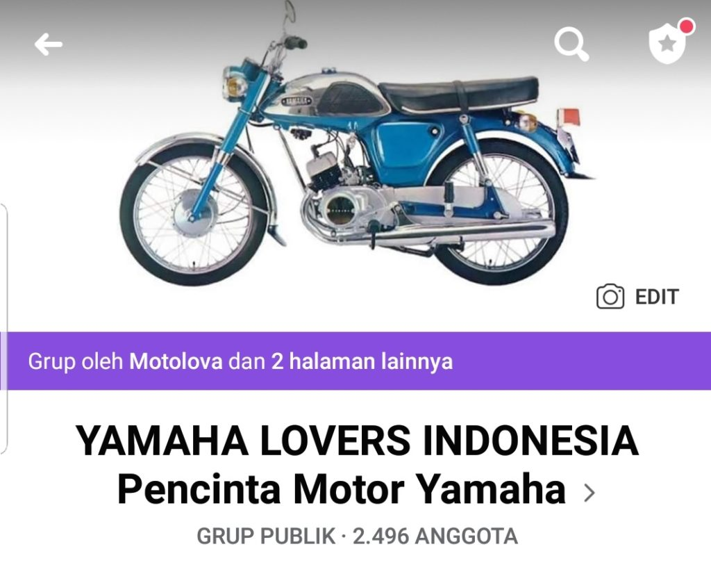 Grup facebook yamaha lovers