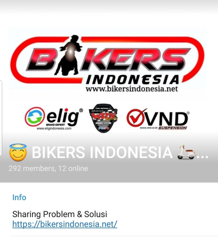 Telegram biker indonesia