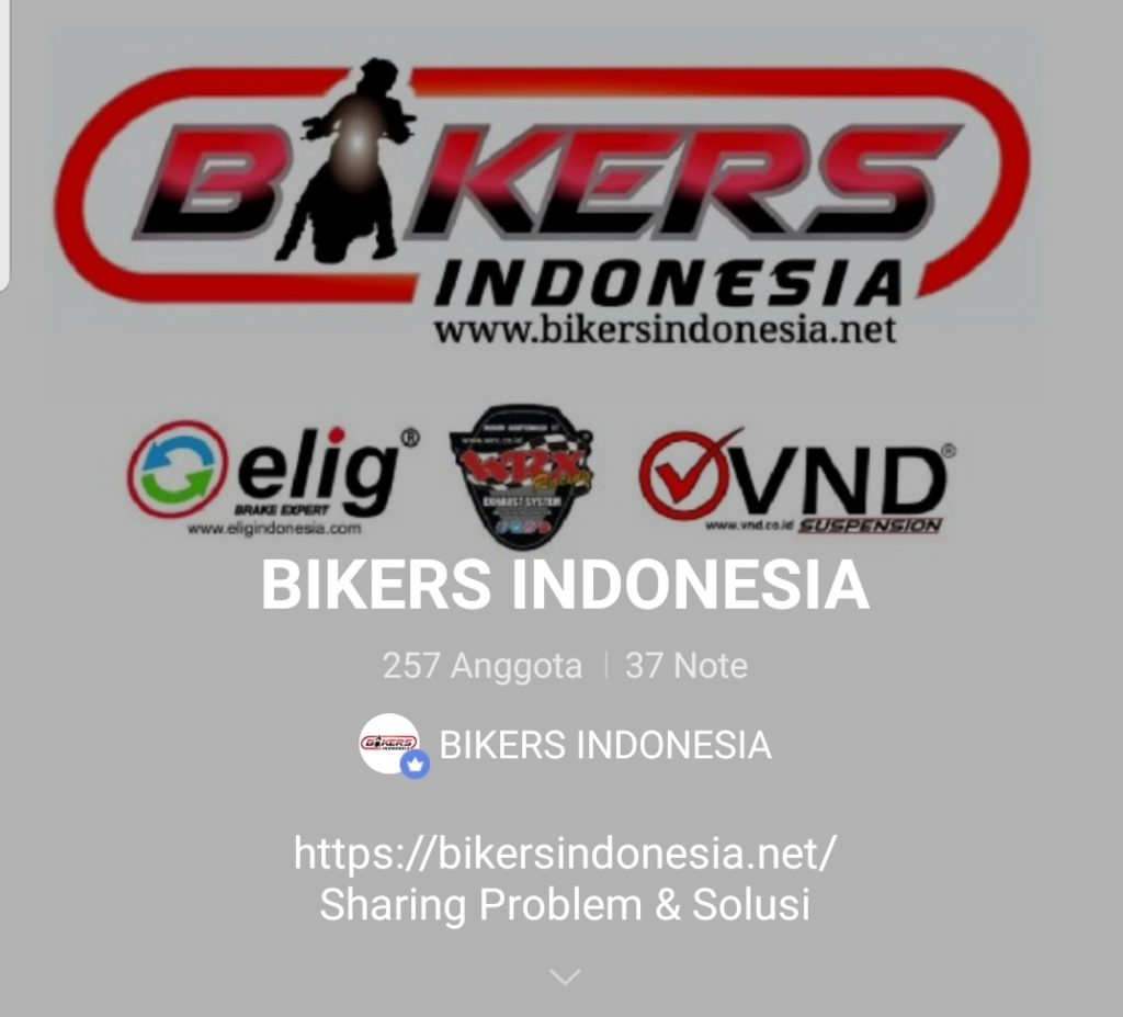 Line bikers indonesia