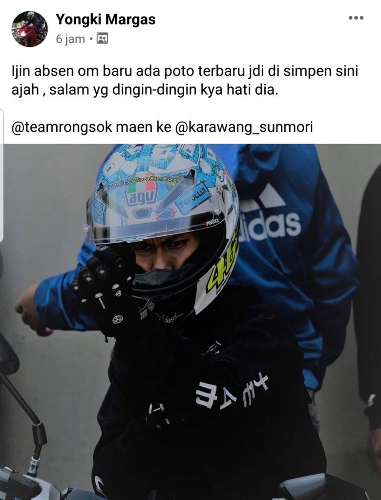 Helmet lover Sunmori karawang