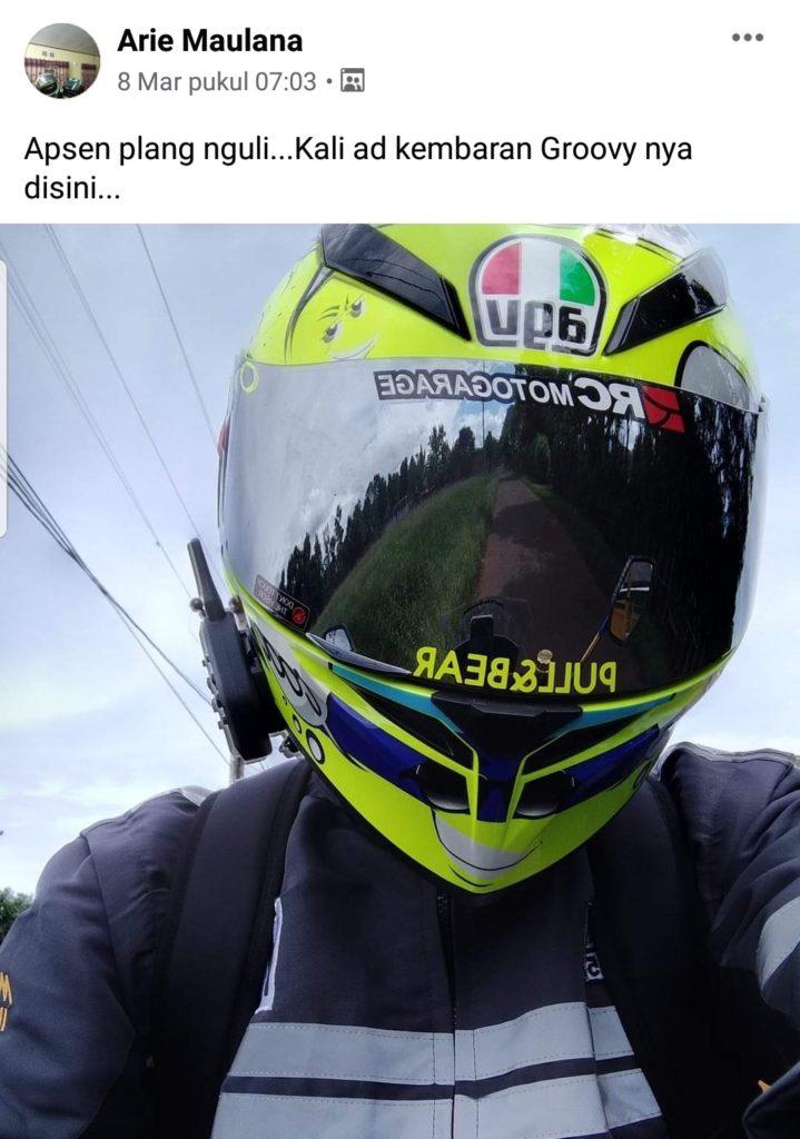 Helmet lover biker indonesia