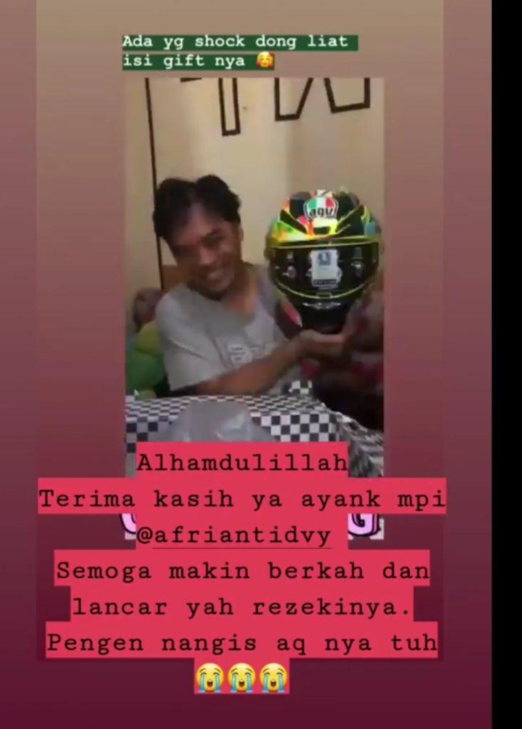 Kado ulang tahun suami dari isteri