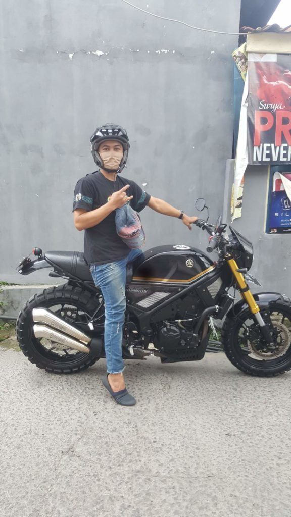 Yamaha mt 25 byson modif