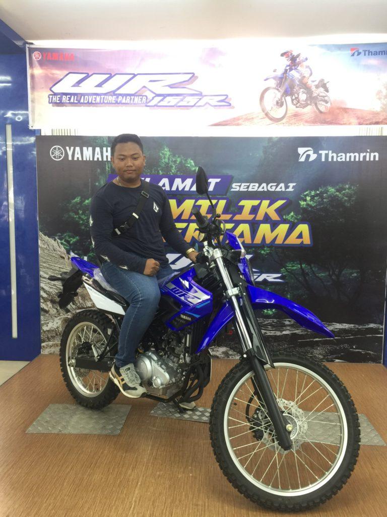 Konsumen pertama WR155 Di Sumatera Selatan