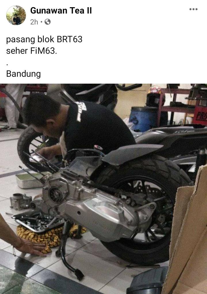 Honda adv blok brt