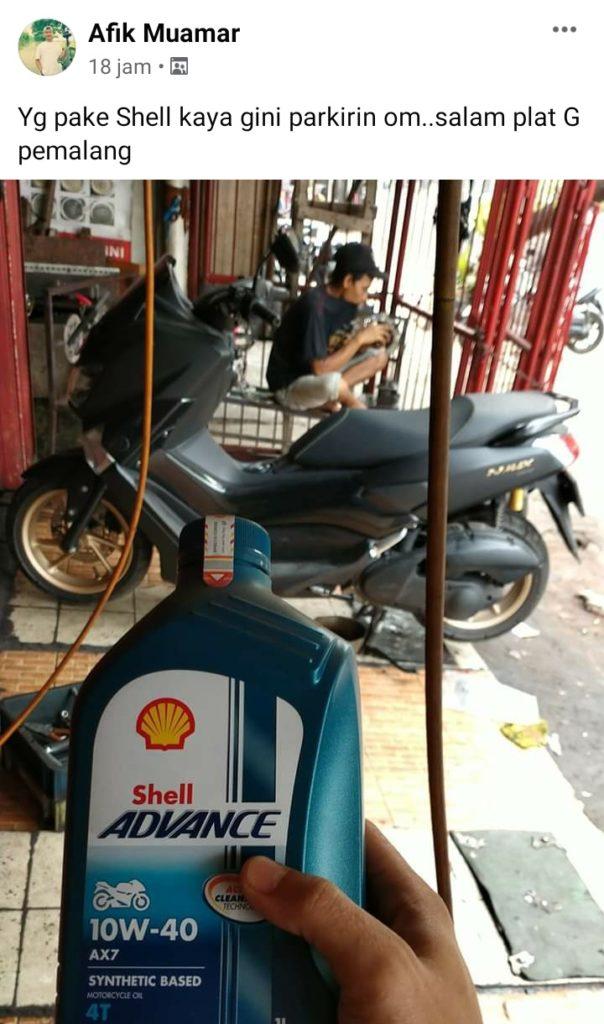 Oli motor recomended