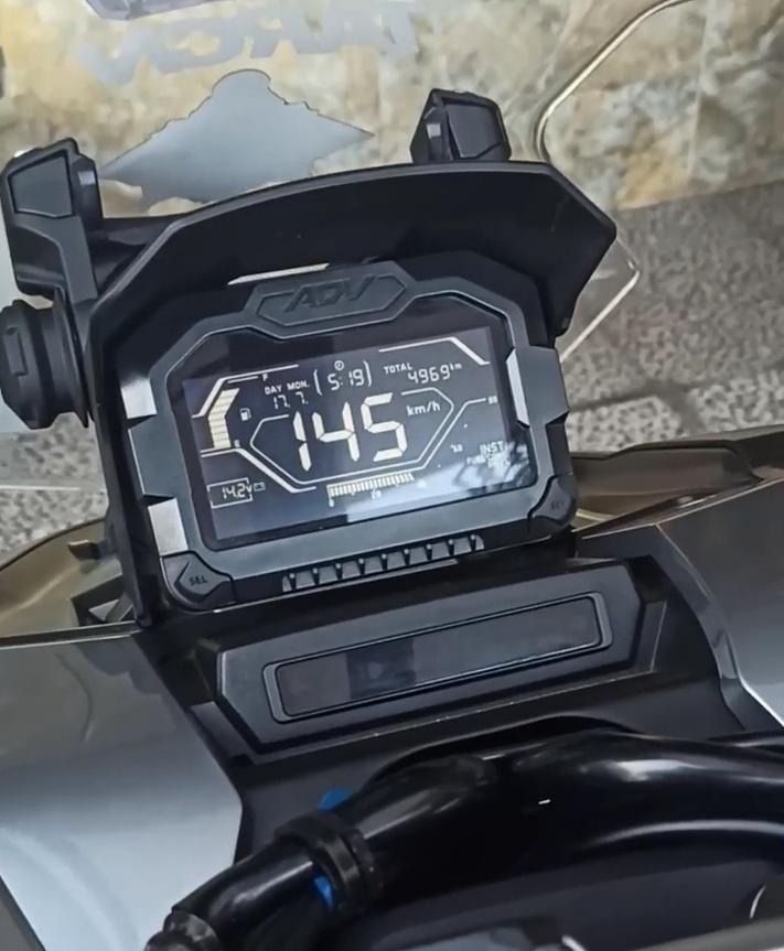 Top speed honda adv