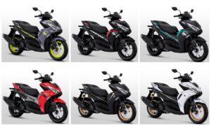 Spesifikasi & warna All new yamaha aerox 155 2021