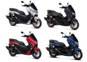Spesifikasi & warna Yamaha All New Nmax Connected