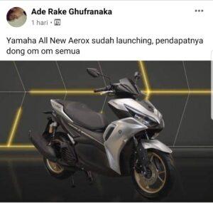 Kata netizen tentang all new yamaha aerox 155