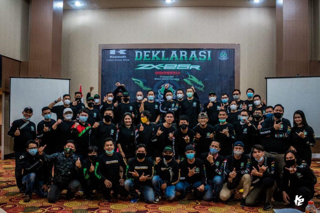 Deklarasi ZX25R Indonesia ZRI