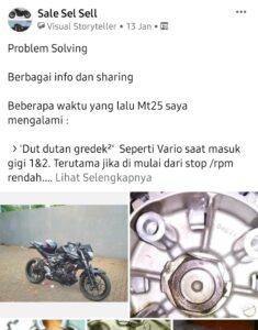 Problem solving yamaha mt25 bikers indonesia