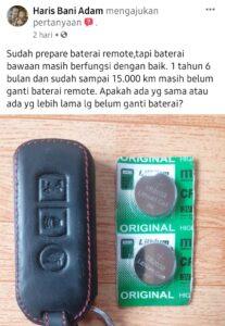 Daya tahan baterai remote honda adv 150