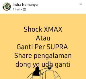 Shock xmax atau per supra untuk yamaha nmax