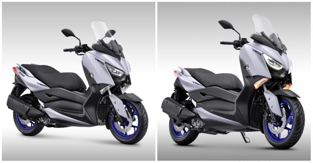 Warna Baru Matte Grey Yamaha Xmax 2021