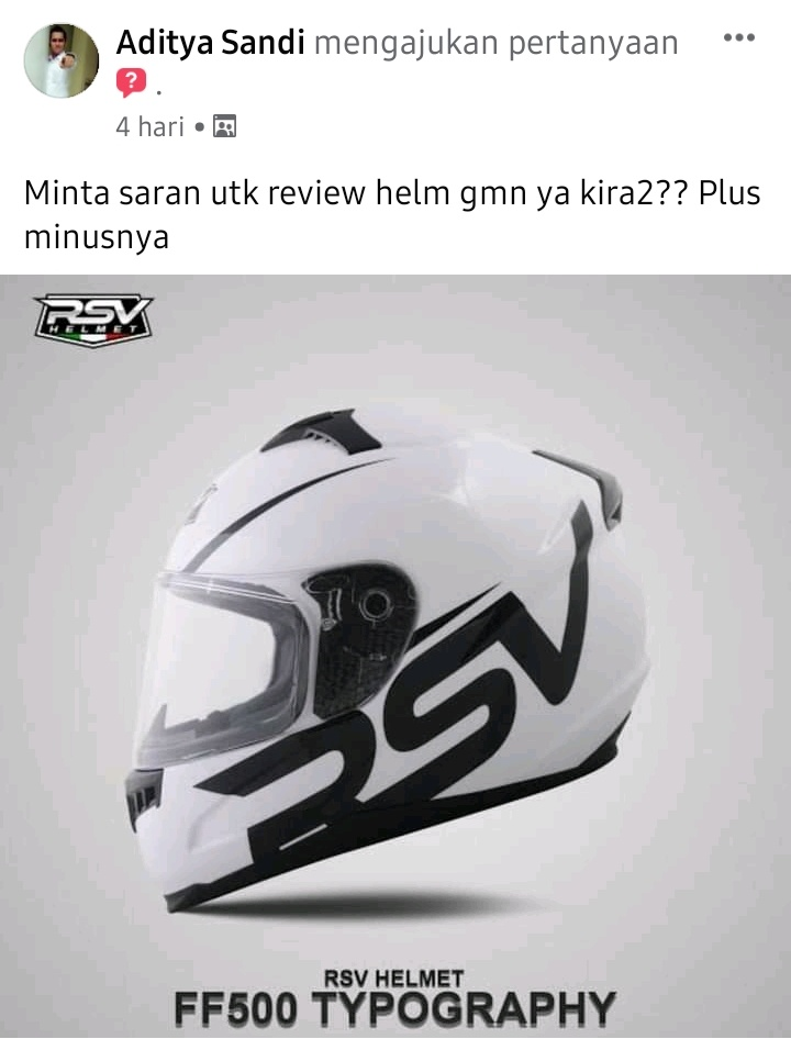Review helm rsv ff500 typography