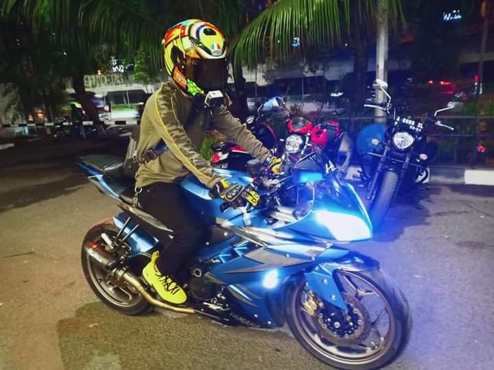 Outfit anak motor helmet lovers indonesia