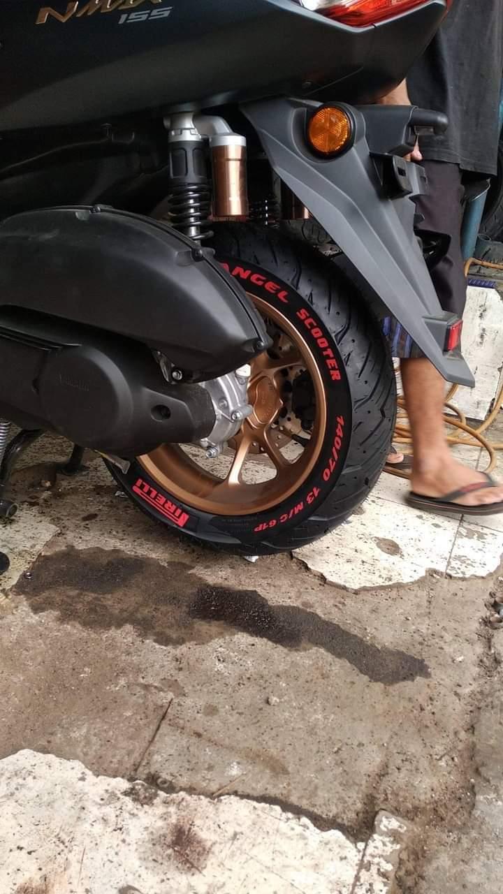 Ban firelli angel scooter