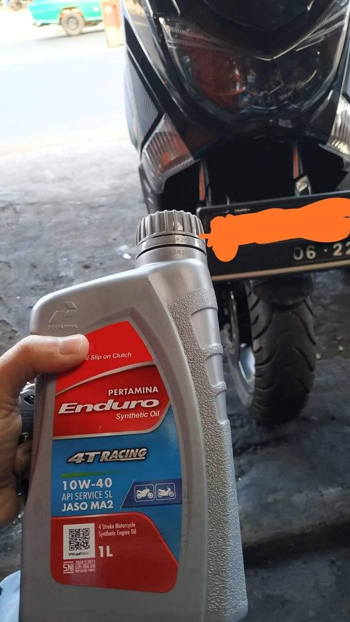 Motor matic pakai oli motor manual